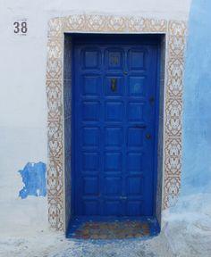 Blue Door in Morocco
