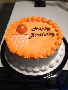 DQ cakes...Dairy Queen Basketball