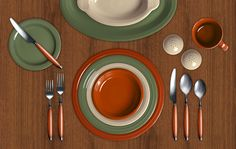 Check out my Colorama by Fiesta® customized table setting! Click to create your…