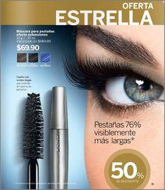 oferta esika c-16 2016. Mascara para pestañas efecto extensiones. #esikamexico #cosmeticos #mujer