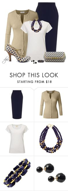 """""""Ruby Shoo - Bag & Shoes"""" by dgia ❤ liked on Polyvore featuring Roland Mouret, White Stuff, Ruby Shoo, Kenneth Jay Lane and Journee Collection"""