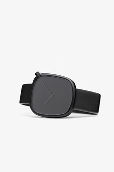 Bulbul Pebble in Black | From Clockwize.uk