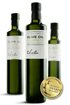 Thélo Gourmet Extra Virgin Olive Oil on Packaging of the World - Creative Package Design Gallery