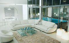 Living Room Inspiration: 120 Modern Sofas by Roche Bobois (Part 2/3) | HomeDSGN