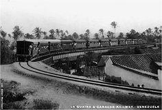 El viaducto de Pariata en Maiquetía. La Guaira 1932 Caracas