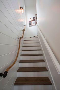 déco de cage d'escalier de maison design