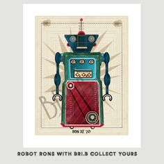 robot ron inc.ron xe 70 edition.gallery prints for the by Zigjigs