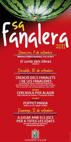 Cliente/Client: Ajuntament d'Alaior Servicio/Service: Cartel / Poster (Periodo profesional: Model Grafic, SL)