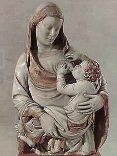 Andrea Pisano, Madonna del latte, 1343-1347