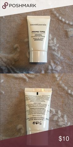 ⭐️bareMinerals Original Foundation Primer NEW New never opened. Weight is listed on packaging. I do NOT trade or hold items. ⭐️Bundle 3 listings for $20. bareMinerals Makeup Face Primer