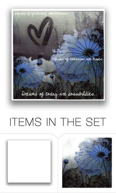 """""""Dreams Are."""" by sumoftheparts ❤ liked on Polyvore featuring art"""