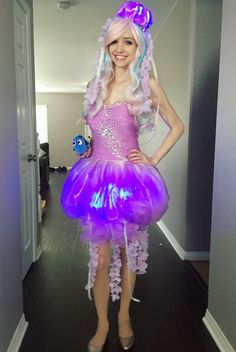 You have to see this amazing Finding Nemo cosplay   [ https://style.disney.com/news/2016/06/28/jellyfish-cosplay-finding-nemo/ ]