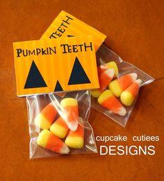 Pumpkin Teeth, cute Halloween treat