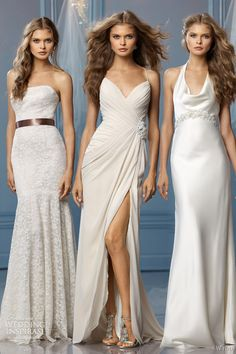 wtoo 2013 bridal belize caprina lanai wedding dresses. I don't think these look like gowns just for weddings.