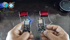 """Comunicação entre 2 ESPs Ponto a Ponto, Peer-To-Peer, sem a utilização de um roteador, um dos ESPs irá ser uma AP Access Point no modo STA Station, que será o Servidor e receberá a conexão do Client, que se conectará ao Station e irá comandar a Carga """"LED"""" do Servidor, e o Servidor irá também comandar a Carga do Client, ou seja ambos acionarão as cargas um do outro independente de qualquer conexão, será uma conexão direta, Ponto a Ponto, Peer to Peer,  entre os dois ESP. Arduino, Communication, Spray Can, Trending Topics, Leather Cord, Makeup Yourself, Led, Fragrance, Perfume"""