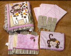 Cocalo Jacana Jungle Animals Crib Bedding Multi-Color Cotton/Polyester, Girls #CoCaLo