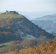 Castell Dinas Bran, Llangollen, Wales: Iron Age hill fort and medieval castle