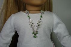 American Girl Doll Emerald and Silver by 2SistersSewCrafty on Etsy