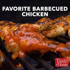 Favorite Barbecued Chicken Recipe