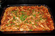 """Paleo Chicken Enchilada Bake. Ugh. I swore I would never go """"Paleo"""", but due to the unfortunate fact that my boyfriend is allergic to everything I have no choice."""