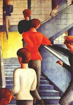  Bauhaus _ Óleo (1932) Oskar Schlemmer   Walter Gropius
