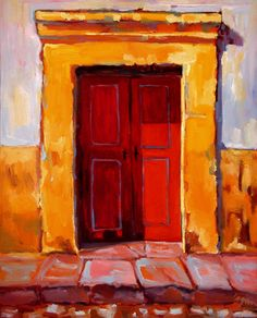 Red Doors of San Miguel - this is where Bob & Gail live (San Miguel de Allende, Mexico)