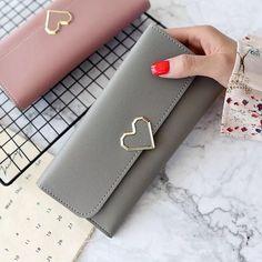 c4a4f6c14852 2018 New Designs Fashionable Luxury Women s Wallets Wallets Women s Wallets  perse Portomonee Portfolio Ladies Long Style Cartera Review