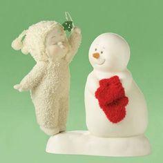 $22.73-$25.00 Department 56 Snowbaby Meet Me Under The Mistletoe -  http://www.amazon.com/dp/B001TG6WE2/?tag=pin2wine-20