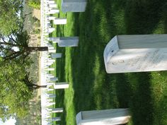 row after row all for our freedom.  National Cemetery in South Dakota