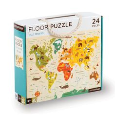 Petit Collage | Our World Floor Puzzle