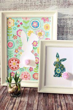 s'Bastelkistle: {DIY} Hasenbilder mit Woll Pom Pom s'Bastelkistle: {DIY} rabbit pictures with wool pom pom Diy Gifts For Kids, Diy For Kids, Diy Photo, Diy And Crafts, Crafts For Kids, Rabbit Pictures, Diy Y Manualidades, Pom Pom Crafts, Origami Box