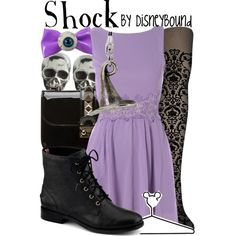 """""""Shock"""" by lalakay on Polyvore...I really want a bunch of stockings like these"""