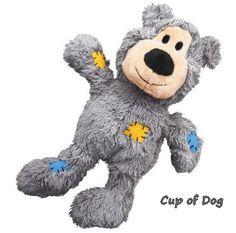 Jouet peluche chien KONG Wild Knots Bears - gris https://www.cupofdog.fr/jouet-chihuahua-petit-chien-xsl-352.html