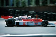 Jochen Mass (GER) (Marlboro Team McLaren), McLaren M23 - Ford-Cosworth DFV 3.0 V8 (finished 4th)  1977 Monaco Grand Prix, Circuit de Monaco