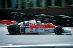 Jochen Mass (GER) (Marlboro Team McLaren), McLaren M23 - Ford-Cosworth DFV 3.0 V8 (finished 4th)  1977 Monaco Grand Prix, Circuit de Monaco