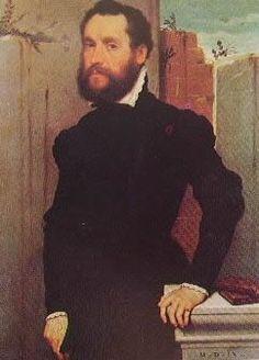Ritratto detto del poeta sconosciuto - 1560 - Giovan Battista Moroni - Pinacoteca Civica di Brescia