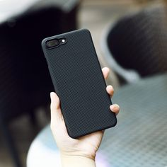 """Beloved PITAKA iPhone 7 Magcase. It's """"magnetic"""" with a metal plate embedded. Click to learn more."""