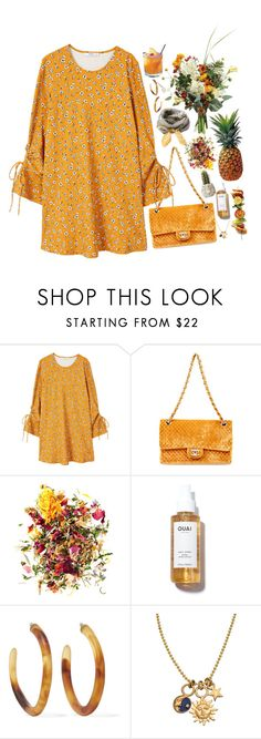 """Tropical"" by ritaflagy ❤ liked on Polyvore featuring MANGO, Dolce&Gabbana, FRUIT, Dinosaur Designs and Jessica Elliot"