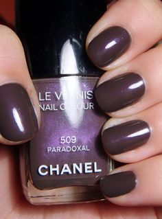Chanel Paradoxal - love this shade. Grey with subtle purple tinges.