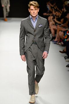 Vivienne Westwood Spring 2013 Menswear Collection Slideshow on Style.com
