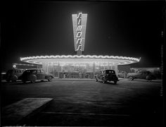 Undated: The neon glow of a restaurant, by Doug White.