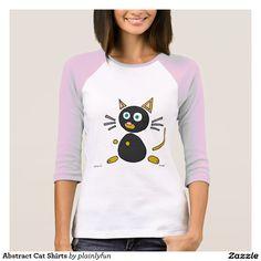 Abstract Cat Shirts