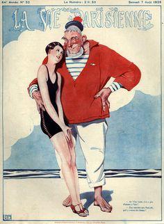 Georges Léonnec (1881 – 1940). La Vie Parisienne, 1926. [Pinned 25-i-2015]
