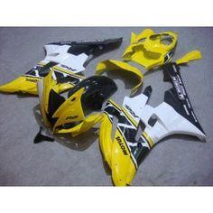 Yamaha YZF-R6 2006-2007 Injection ABS Fairing - Motul - Yellow/Black/White | $689.00