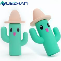 LEIZHAN Cle USB Flash Drive Cactus pen drive 64G 32GB 16GB 8GB 4GB USB2.0 Memory Flash Drive Storage Device U Disk Cartoon Stick