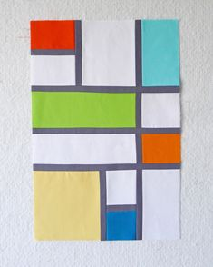 QuiltCon Challenge Graphic Squares, Rectangles & Boxes