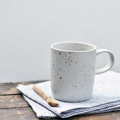 Speckled Grey Mug -