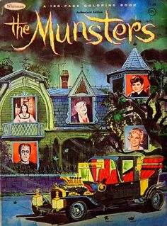"Vintage Whitman ""The Munsters"" Colouring Book"