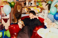 Bambi 3, Baekhyun Fanart, Colorful Party, D Day, Plush Dolls, New Image, Teaser, Mini Albums, Mickey Mouse