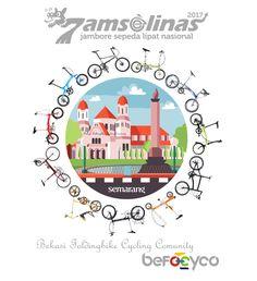 Jamselinas 7 Semarang 2017 jambore sepeda lipat nasional befocyco logo 15 - 17 September